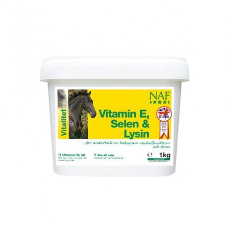 Vitamin E, Selen & Lysin 1kg