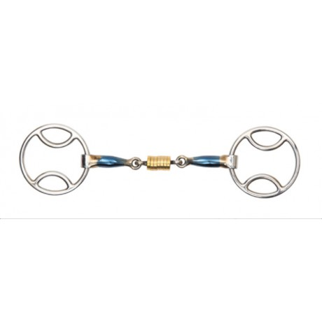 Blue Sweet Iron Bevel with Roller Link